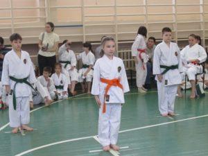 Турнир по Фудокан каратэ среди детей и юношей по командным видам программ