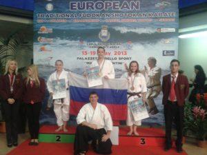 Чемпионат Европы по традиционному Фудокан-Шотокан каратэ-до