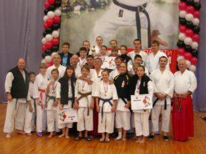 Открытый Кубок Федерации Фудокан России по традиционному каратэ-до. Тольятти 2011 год