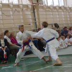 Соревнования по традиционному каратэ.