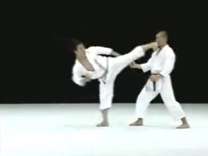 Kagawa Karate Yoko Geri Kekomi