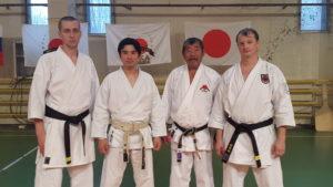 Семинар по традиционному Шотокан каратэ-до руководителя международной организации IJKA КАТО САДАШИГЕ, 9 Дан.