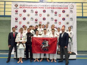 Всероссийские соревнования по всестилевому каратэ. 12-14 февраля 2016 год, г.Брянск