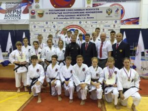 IX Открытые Всероссийские юношеские Игры боевых искусств