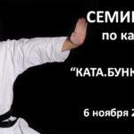 6 ноября 2016г.- учебно-тренировочный семинар по каратэ Фёдорова Юрия Александровича