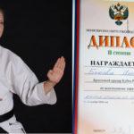 ПОЗДРАВЛЯЕМ Быкову Инну — бронзового призёра Кубка России по всестилевому каратэ!!!