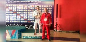 Бондарь Алёна — бронзовый призёр Спартакиады учащихся России! Поздравляем!