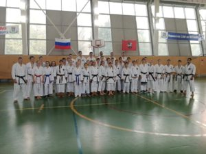 9 сентября 2018 года состоялась Открытая тренировка сборной команды города Москвы по всестилевому каратэ.